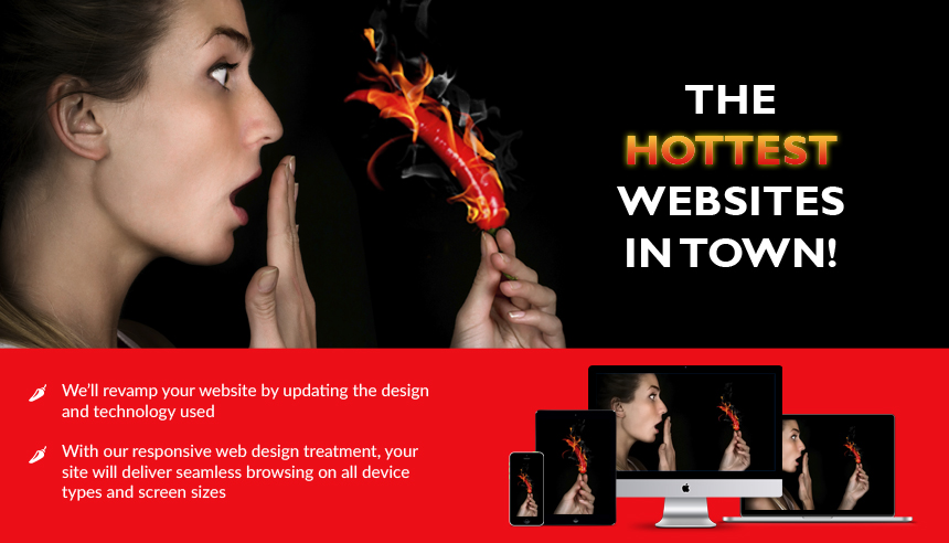 The hottest websites in town!